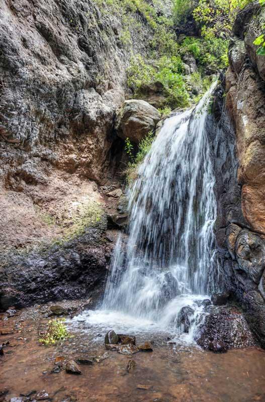 Noch ein Wasserfall im hinteren Teil des Barrancos auf Gran Canaria
