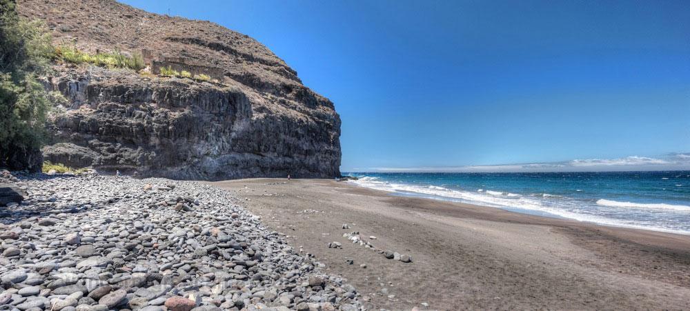 Sandstrand der Playa Guigui Grand