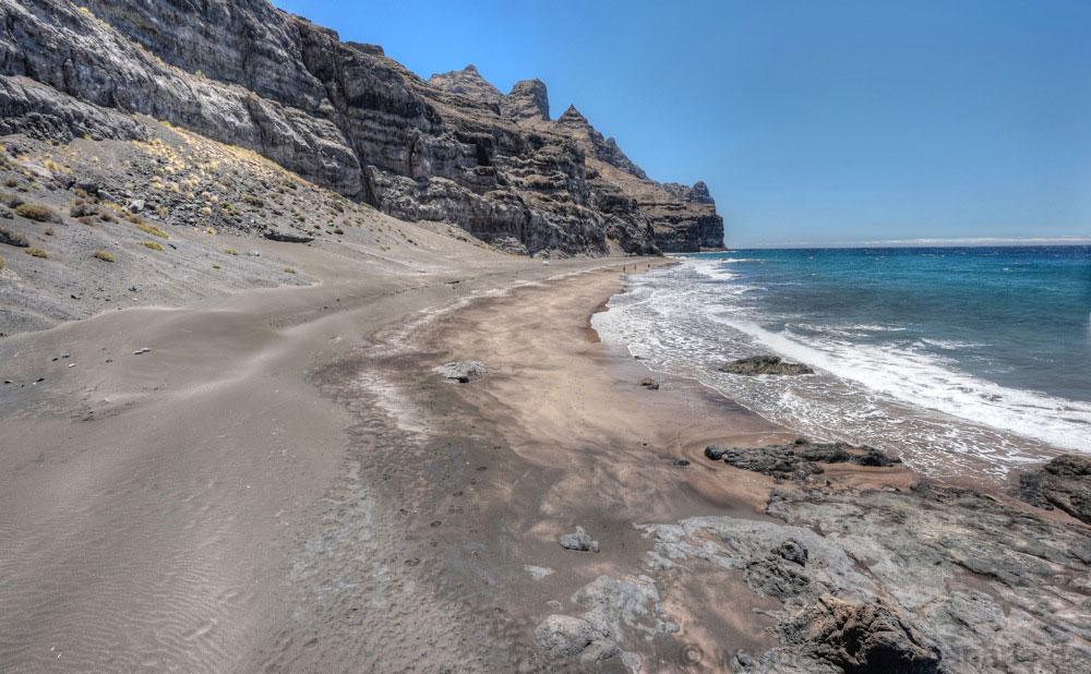 Playa de Gui gui Chico vom Norden aus gesehen