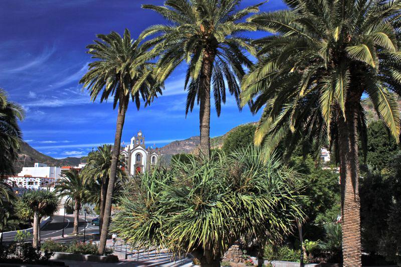 Park und Kirche von Santa Lucia, Gran Canaria