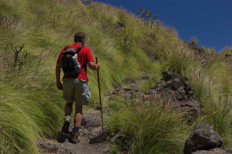 Wanderpfad von Agaete zum Tamadaba Naturschutzgebiet