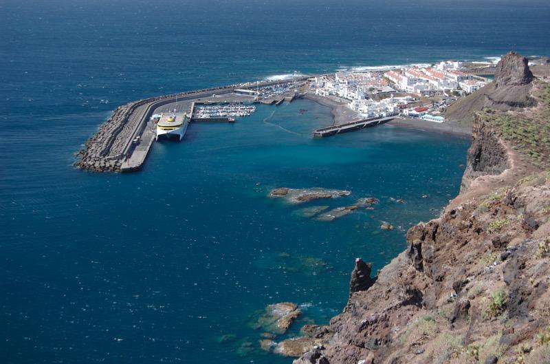 Hafen von Agaete Puerto de las Nieves