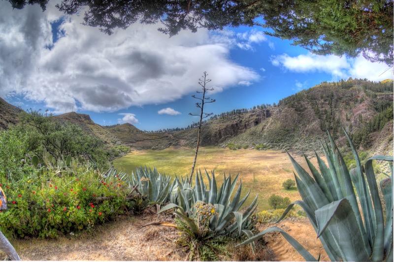 Caldera de los Marteles, Vulkankrater im Osten von Gran Canaria