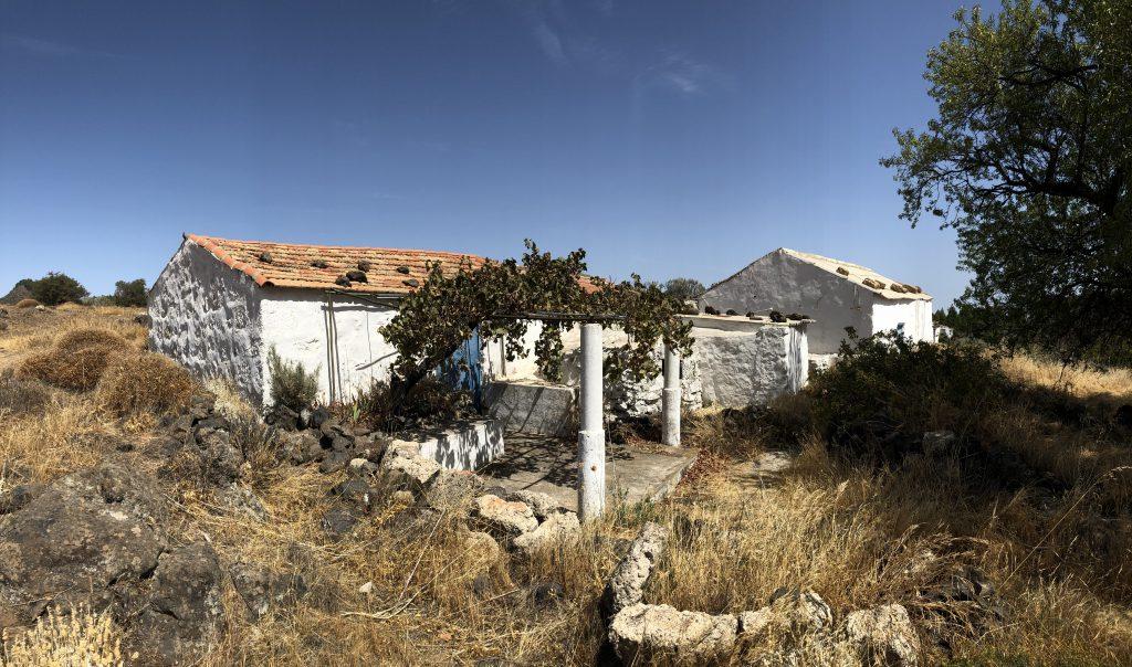 Altes Bauernhaus im östlichen Zentrum von Gran Canaria